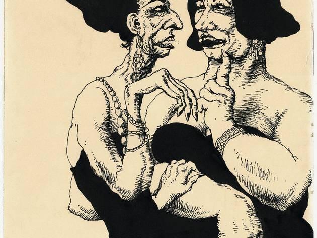('Sans titre', 1966 / Collection particulière / © Robert Crumb)