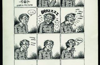 ('R. Crumb Presents R. Crumb', 1973 / Collection Eric Sack, Pennsylvanie / © Robert Crumb )