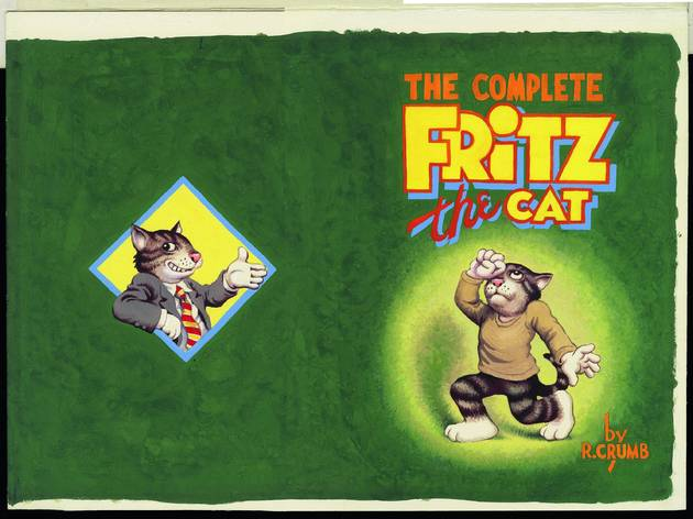 ('The Complete Fritz the Cat' (couverture), 1977 / Collection particulière / © Robert Crumb)