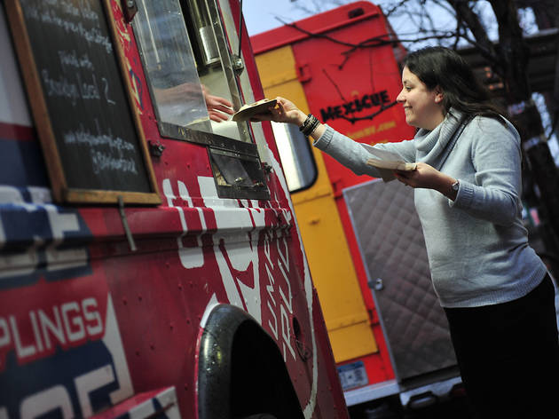 Follow a flock of food trucks