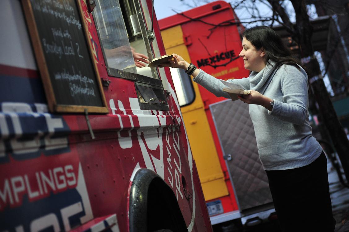 Follow a flock of food trucks