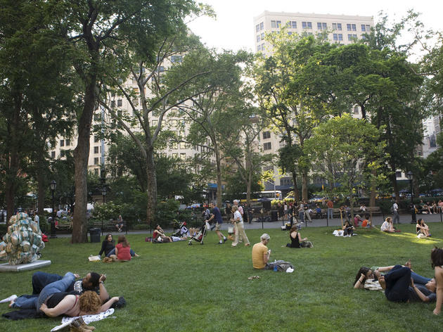 Madison Square Park (Photograph: Michael Kirby)