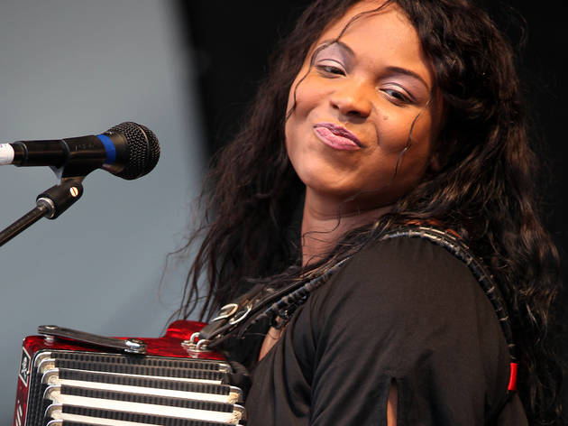 Rosie Ledet and the Zydeco Playboys