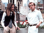 Woody Allen, right, in Annie Hall