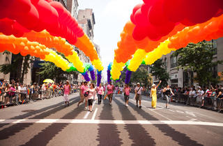 Gay Pride in NYC means a colorful pageant down Fifth Avenue