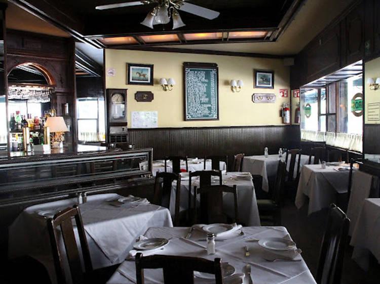 Ostiones Rockefeller en Bros Oyster Bar