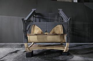 Les Arches Wilson... (...vues par Sarah Fauguet & David Cousinard / Installation présentée jusqu'au 4 juin 2012 : Sarah Fauguet & David Cousinard, 'Run Deep / Run Silent'/ © Photo : Aurélien Mole)