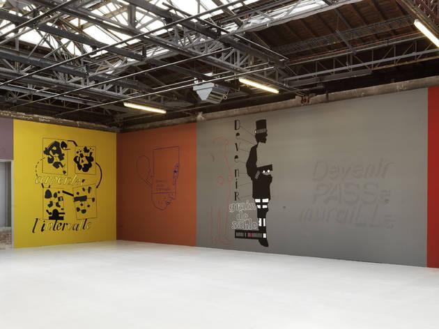 La Power Room... (...vue par Jean-Michel Alberola / Installation présentée jusqu'au 30 décembre 2012 : Jean-Michel Alberola, 'La Chambre des Instructions' / © Photo : André Morin)