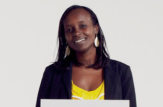 Jacqueline Murekatete, founder of Jacqueline's Human Rights Corner, a genocide prevention/education program that also helps survivors rebuild their lives; part of Miracle Corners of the World
