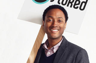 Steve Larosiliere, founder and president of Stoked, an action-sports mentoring program for underserved youth