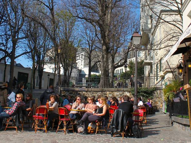 (Square Ravignan Montmartre / © C.G.)