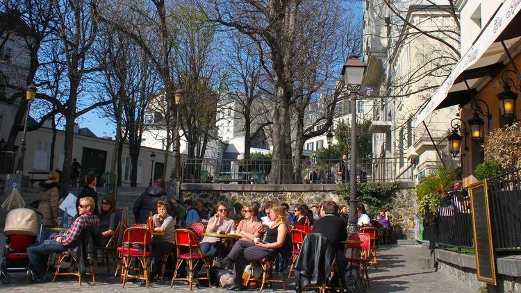 Square Ravignan Montmartre / © C.G.