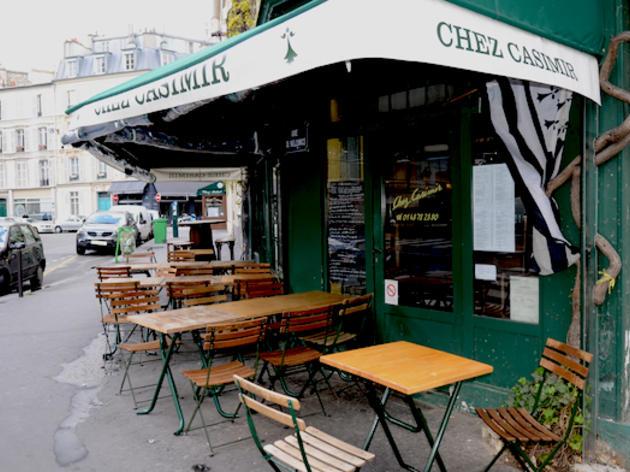 Pavement café • Chez Casimir