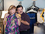 Shirley MacLaine and Jack Black in <em>Bernie</em>