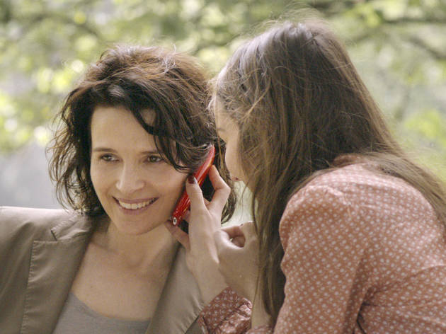 Juliette Binoche and Anaïs Demoustier in Elles