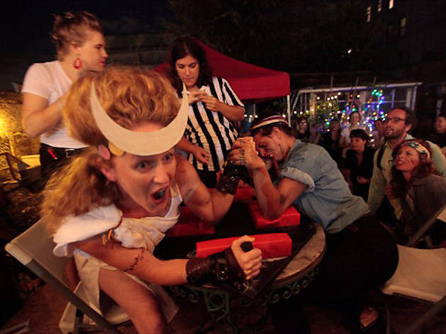 Five Borough Ladies Arm Wrestling