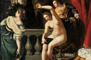 ('Bethsabée au bain', c. 1640-45 / © Photo Courtesy Sotheby's, Milano)