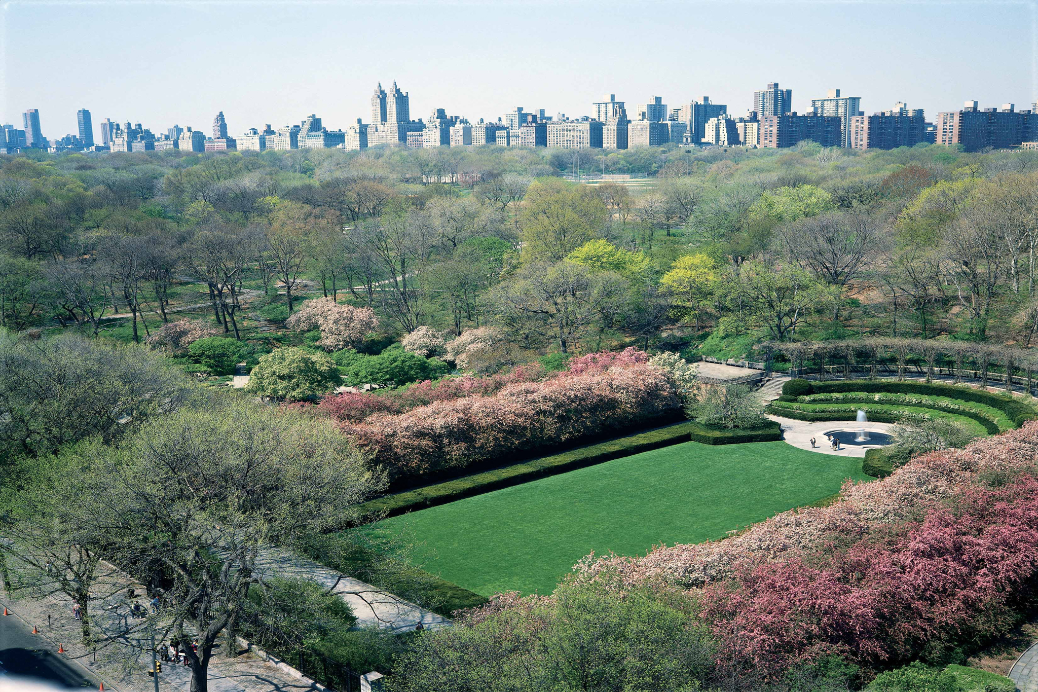 Smell the roses at Central Park's Conservatory Garden