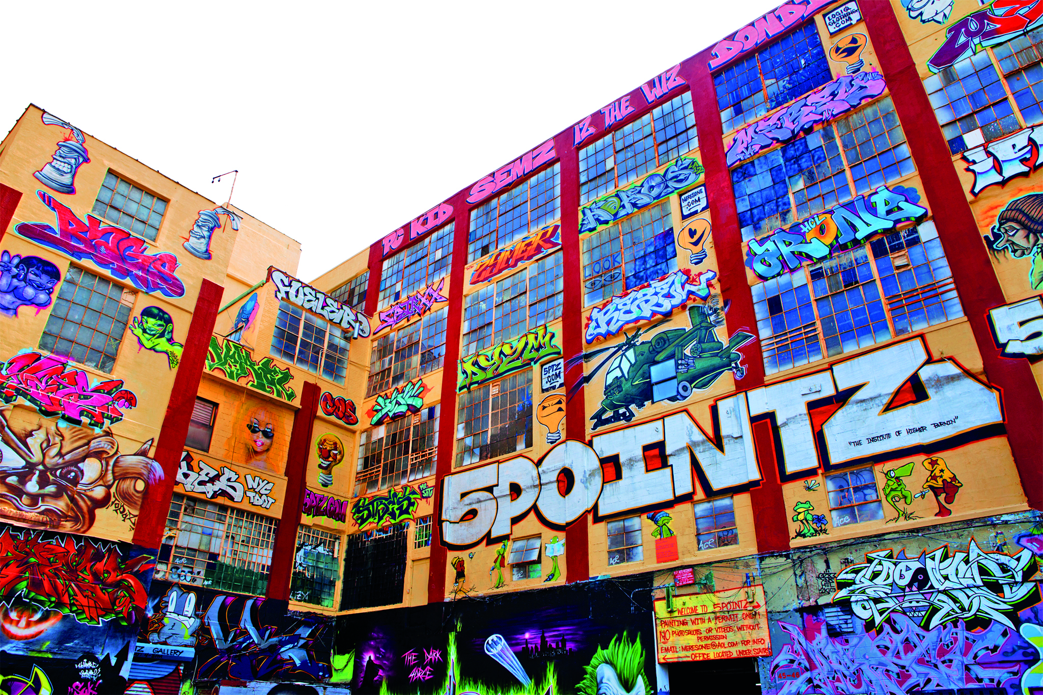 5 Pointz summer events