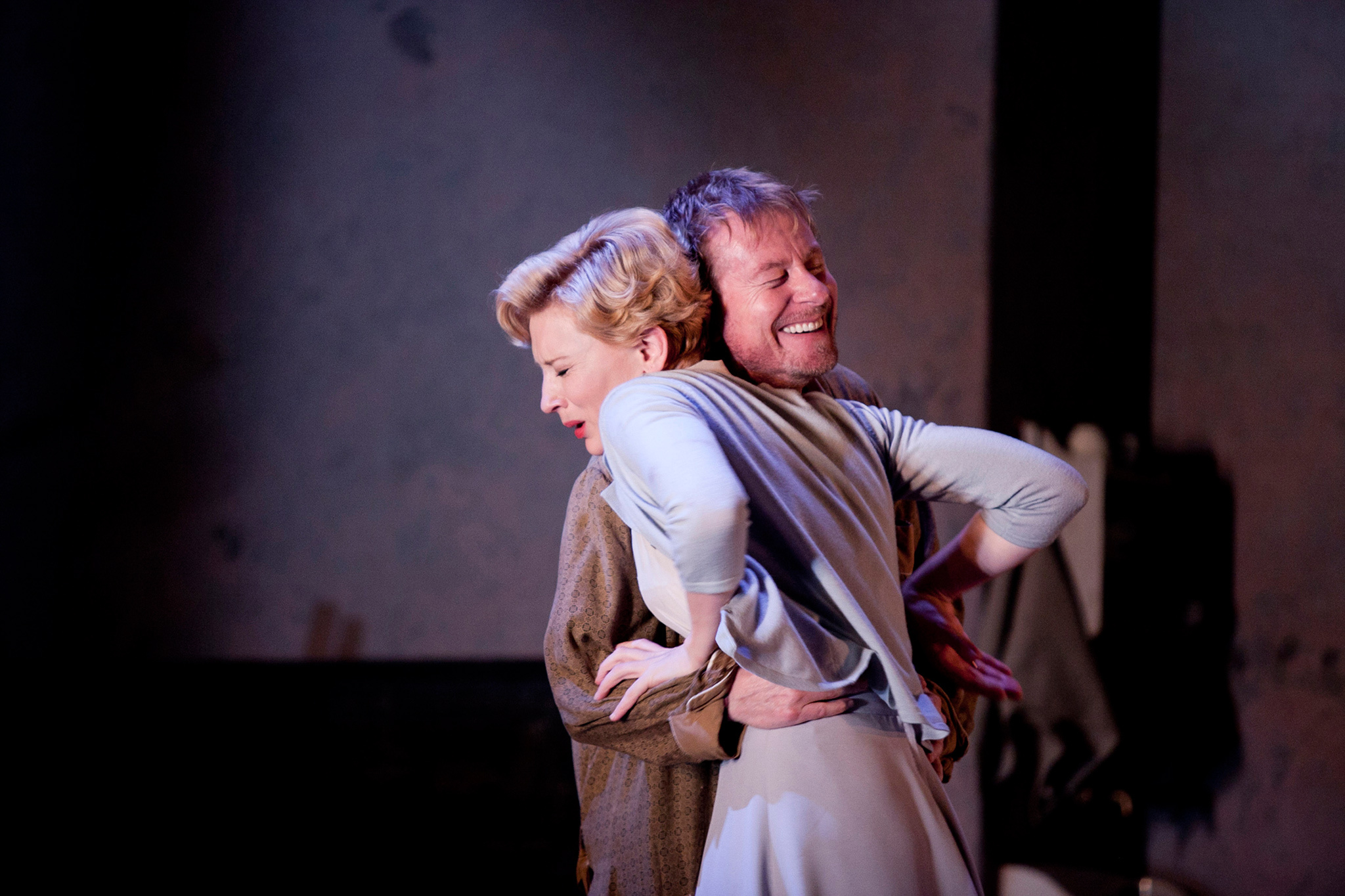 Cate Blanchett and Richard Roxburgh in Uncle Vanya