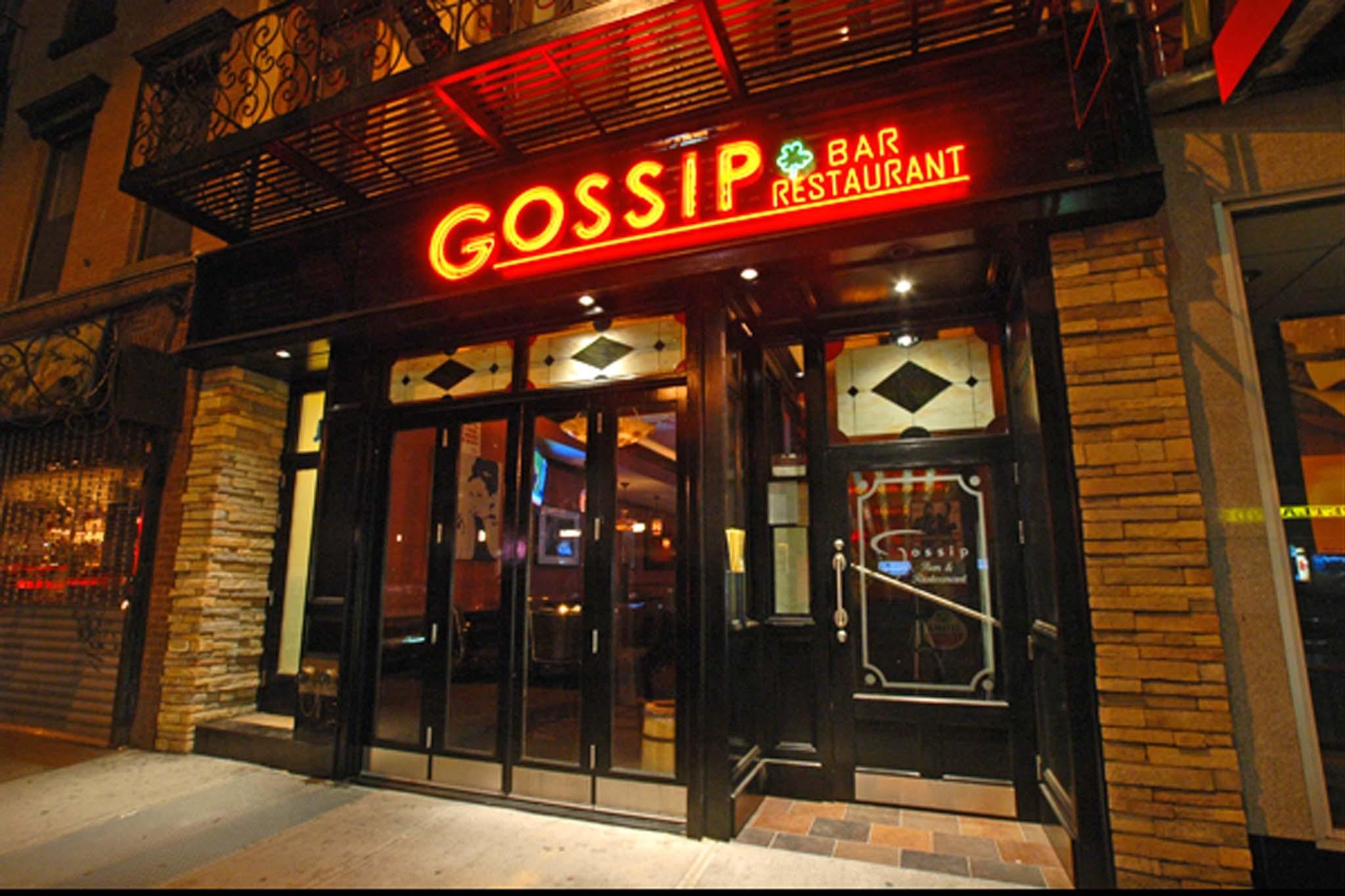 gossip bar restaurant restaurants  hells kitchen  york