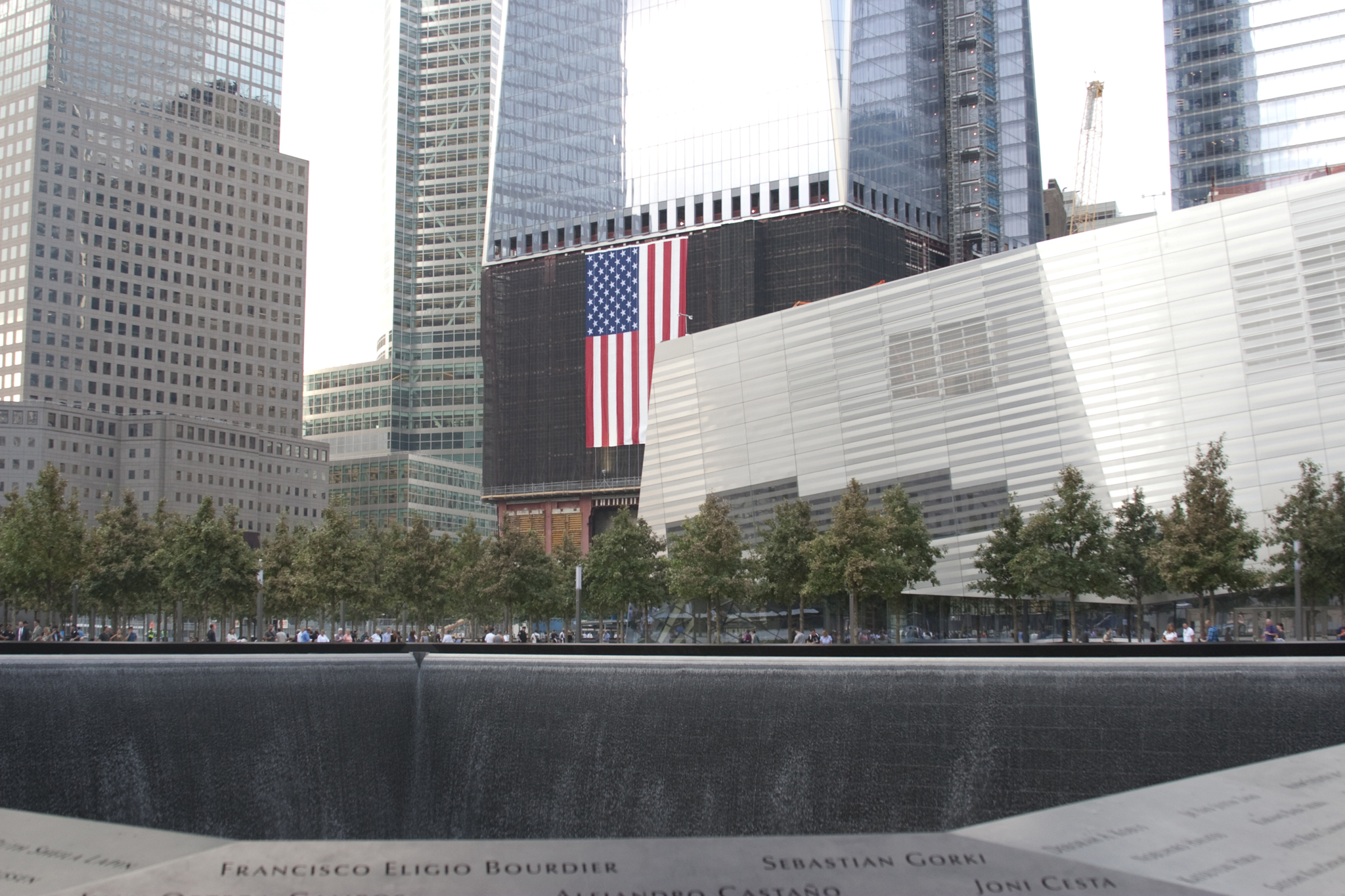 The 9/11 Memorial and Museum in NYC
