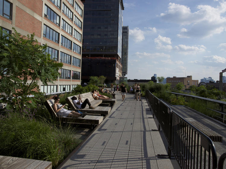 Relax on the High Line