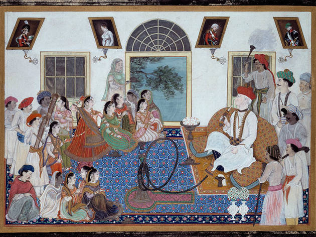 """Princes and Painters in Mughal Delhi, 1701–1857"""