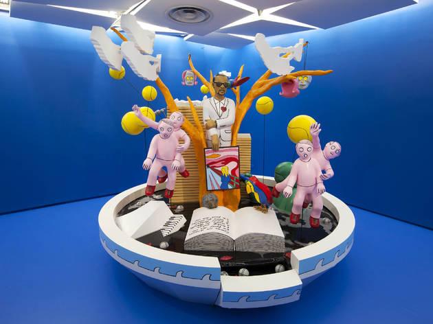 ( Vue de l'exposition, 'Sculpture' /  Photo : Thibaut Voisin)