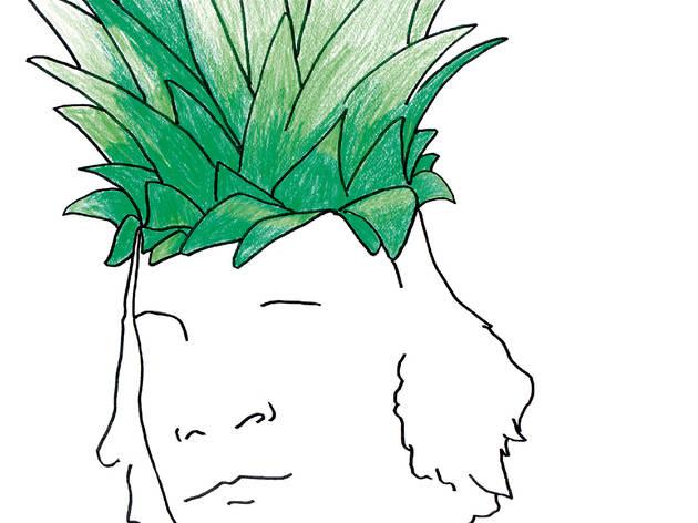 ('Comme un ananas', dessin, 2012 / Courtesy Philippe Katerine)