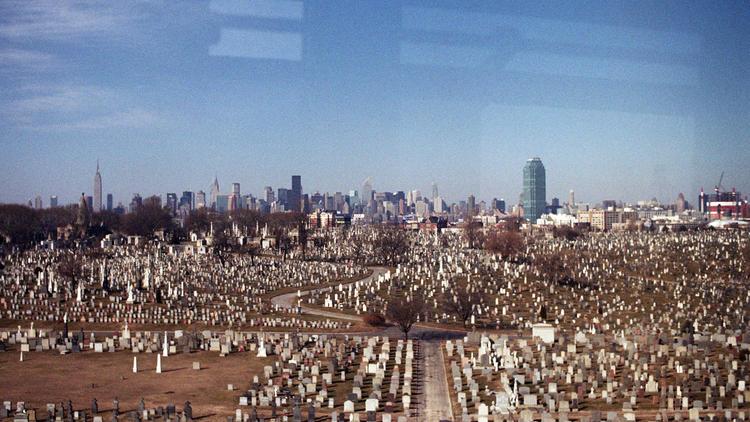 Calvary cemetery (Photograph: Ed Glazar)