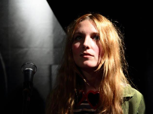Singtank (Le concert privé a eu lieu dans le concept-store Ra, situé dans le Marais.)