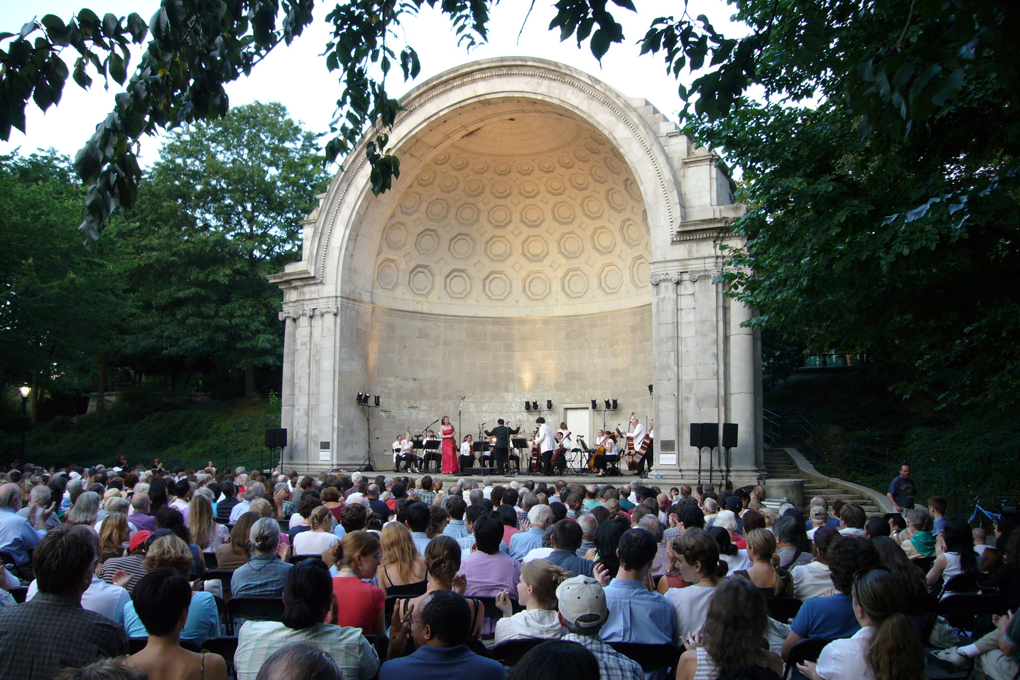 Relax to chamber music in Central Park