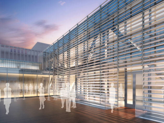 Rendering of Lincoln Center's new Claire Tow Theater