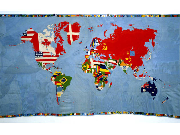 (Photograph: © 2012 Estate of Alighiero Boetti / Artists Rights Society)