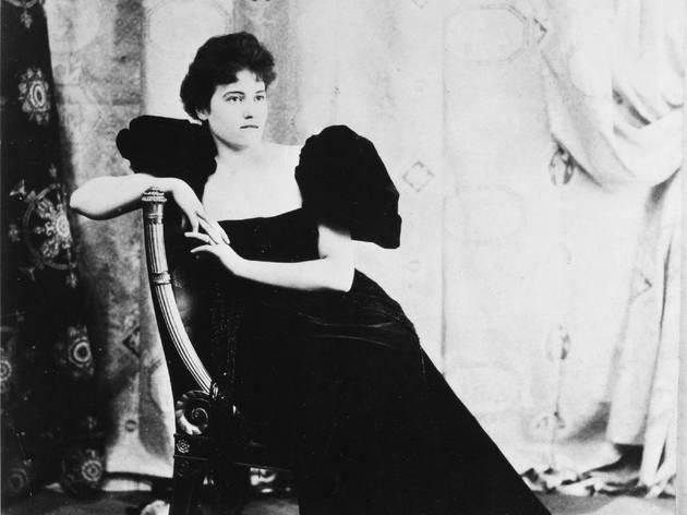 (Anonyme, 'Misia Natanson en robe noire' / Collection particulière / © Archives Vuillard, Paris)