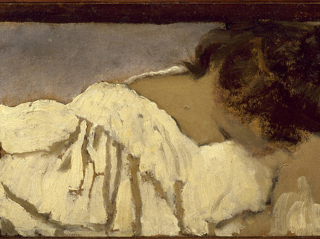 (Édouard Vuillard, 'La Nuque de Misia', 1897-1899 / Collection particulière / © Archives Vuillard, Paris)
