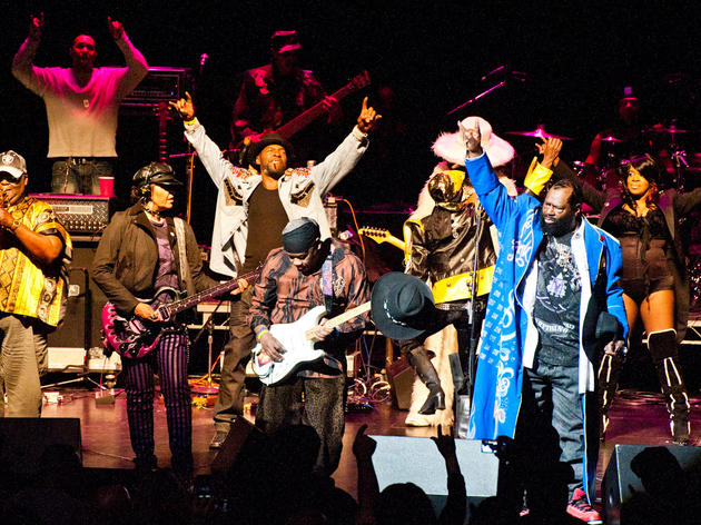 George Clinton and Parliament Funkadelic + BJ the Chicago Kid + The Boy Illinois