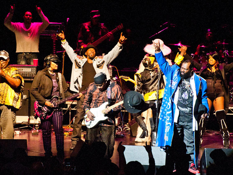 """""""Funky Fat Tuesday"""" Celebration with George Clinton and Parliament-Funkadelic"""