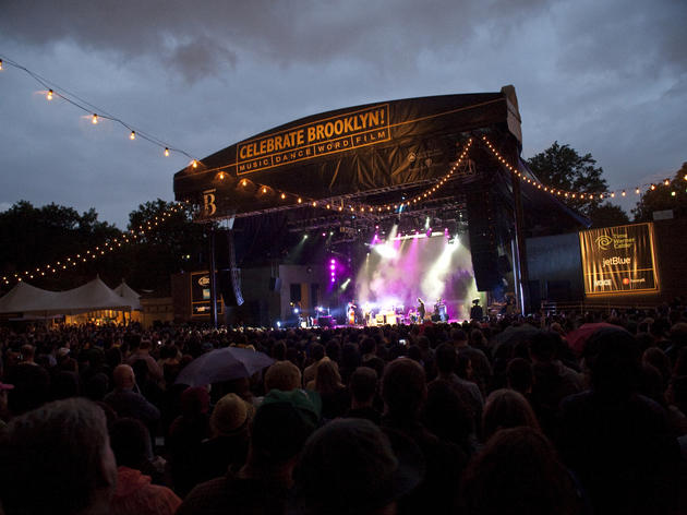 <p>The Decemberists/Best Coast play at the Prospect Park Bandshell</p>
