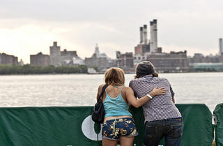Williamsburg waterfront (Photograph: Loren Wohl)