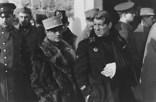 Pierre Fresnay, left, and Jean Gabin in Grand Illusion