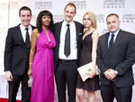 Will Guidara and Daniel Humm at the James Beard Foundation Awards