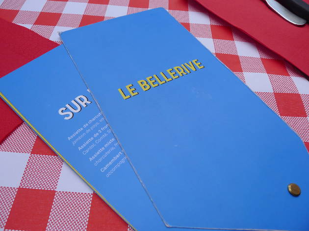 (Le Bellerive, menu / © Elsa Pereira)