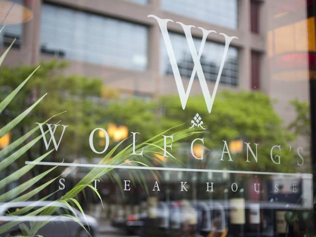 Wolfgang's Steakhouse (Photograph: Marielle Solan)