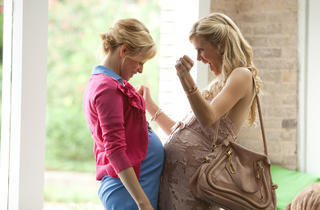 Elizabeth Banks, left, and Brooklyn Decker in What to Expect When You're Expecting