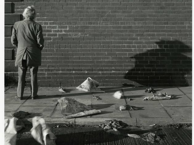 ('True Love Wall', Gateshead Town Center, Tyneside, 1975 / Courtesy of the Artist / © Chris Killip)