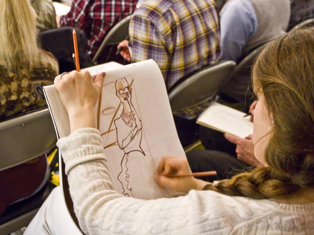Society of Illustrators (Photograph: Caroline Voagen Nelson)