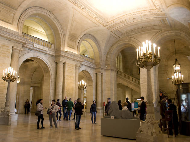 New York Public Library map room