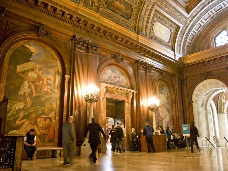 La Biblioteca Pública de Nueva York, edificio Stephen A. Schwarzman